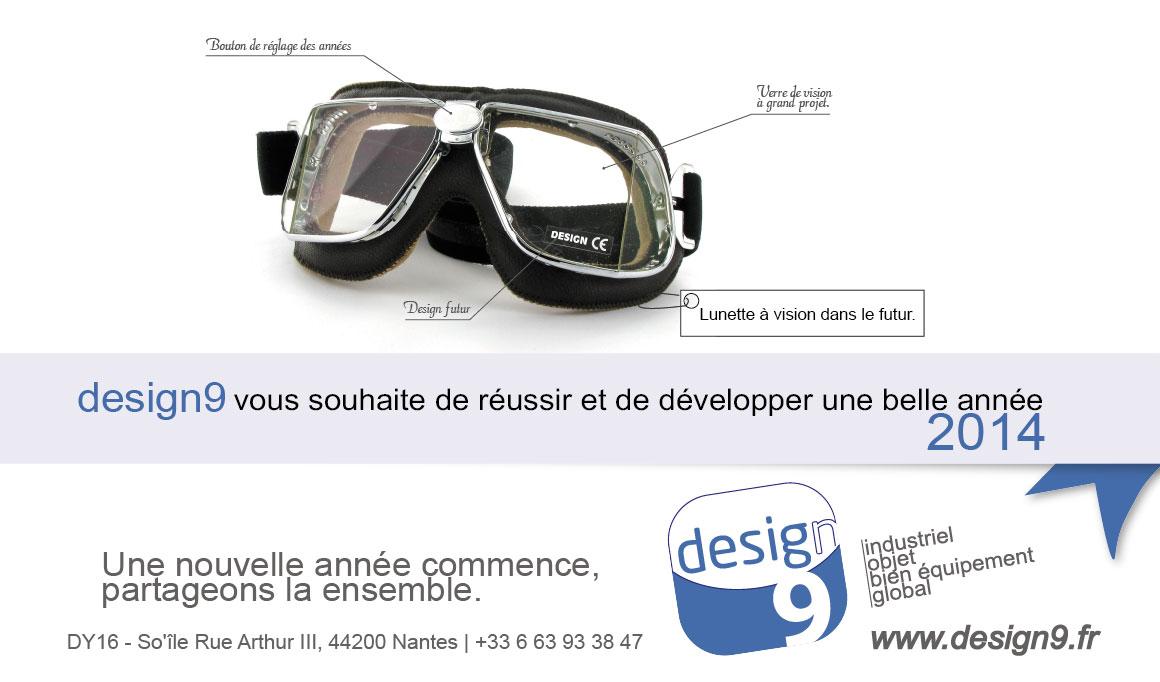 design9 vous souhaite de réussir et de développer une belle année 2014.
