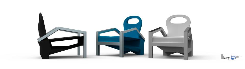 Fauteuil in the grass