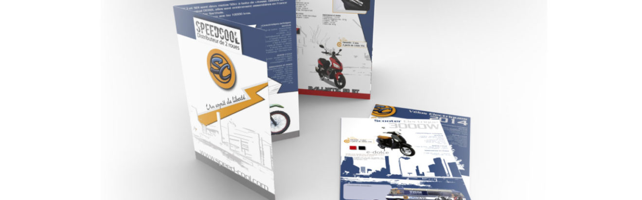 Catalogue Speedcool 2014 – design graphique