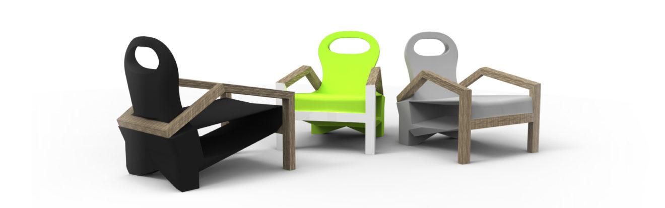 fauteuil de jardin «in the grass»  – design produit