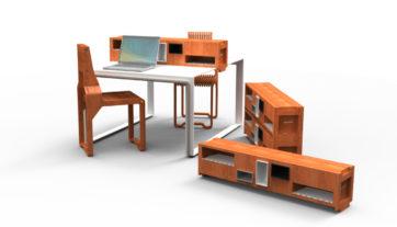 étagère-de-table